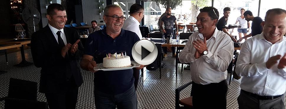 Çanakkale Medya Grubu Yönetim Kurulu Başkanımıza Sürpriz Doğum Günü