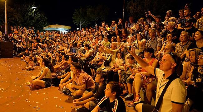 Çanakkale Troya Halk Dansları Festivaline Yoğun İlgi