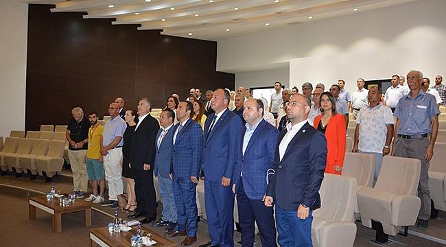 Küçükkuyu-Midilli Seferleri Ortak Akıl Toplantısı ÇTSO'da Yapıldı
