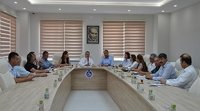 Mesleki Eğitim Koordinasyon Toplantısı Biga TSO'da Yapıldı