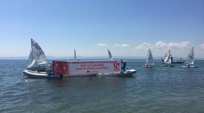 """""""Uluslararası Barbarossa Cup""""da 15 Temmuz anma töreni"""