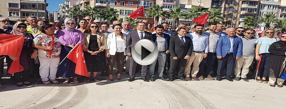 AK Parti'nin 17'inci kuruluş yıl dönümü Çanakkale'de törenle kutlandı.