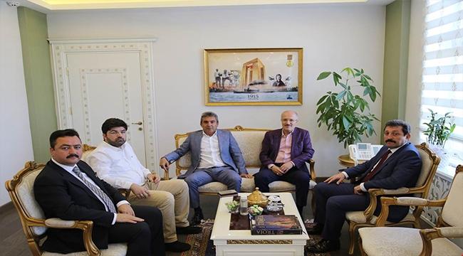 Balıkesir Büyükşehir Belediye Başkanı Zekai Kafaoğlu'ndan Valiliğe Ziyaret