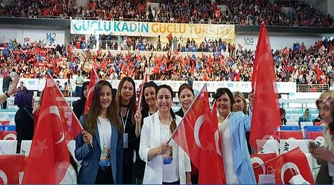 Başkan Üstün ve yönetimi Ankara'daki kongreye katıldı