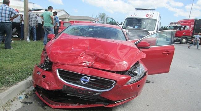 Biga'da Kaza: 2 Yaralı!
