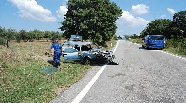 Çanakkale'de Trafik Kazası: 1 Kişi Yaralı!