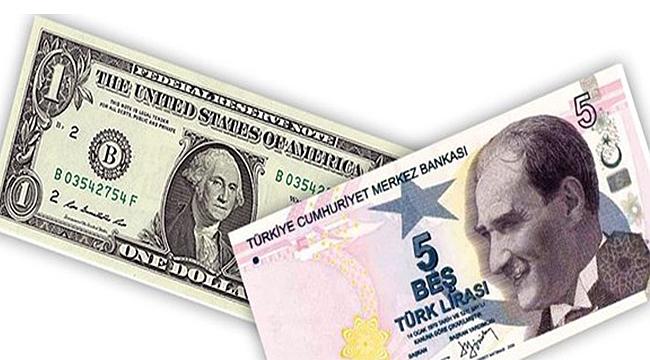 Hayaldi Gerçek Oldu: Dolar 5 TL
