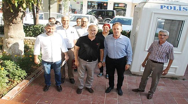 Ak Parti Çan İlçe Teşkilatı, Yeni Çan İlçe Emniyet Müdürünü Ziyaret Etti