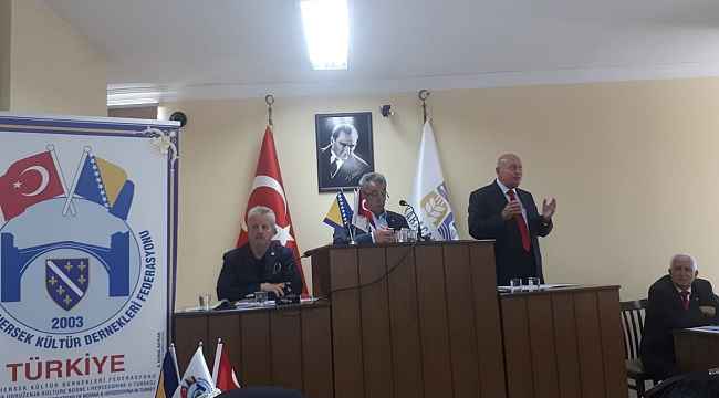 Bosna Hersek Federasyonu yeni başkanı Ergun Erkap