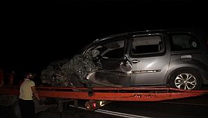 Çan'da trafik kazası: 1 ölü 1 yaralı!