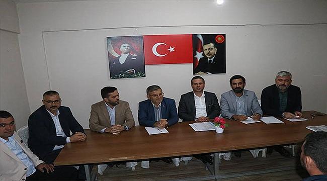AK Parti İl Başkanı ve İl Yönetiminden Ayvacık ve Küçükkuyu Ziyareti
