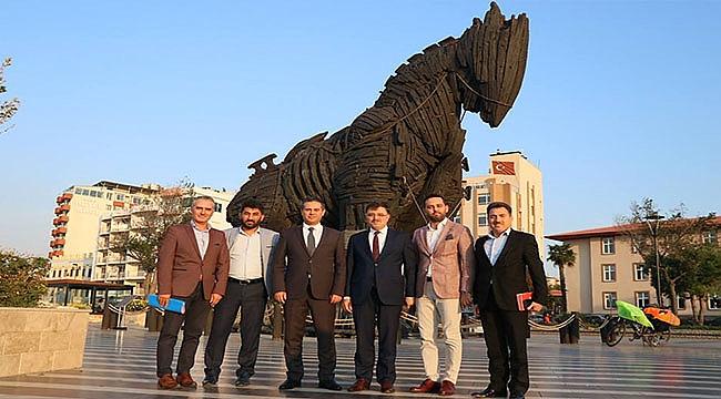 Yozgat Milletvekili Av. Yusuf Başer Çanakkale'de