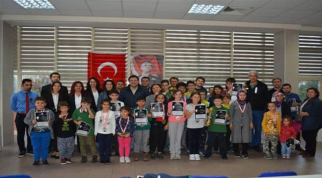 Atatürk Haftası Turnuvasında Çanakkale Belediyespor'a 2 Kupa 4 Madalya