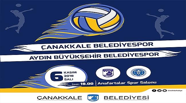 Çanakkale Belediyespor, Aydın Büyükşehir Belediyespor'u Ağırlıyor!