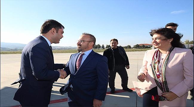 Çevre ve Şehircilik Bakanı Murat Kurum Çanakkale'de