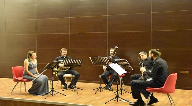 Eskişehir'in Nefesli Beşlisi Yunus Emre Wind Quintet Çanakkalelilerle Buluştu