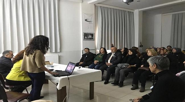 Mahalle Meclisinde Diyabet semineri düzenlendi