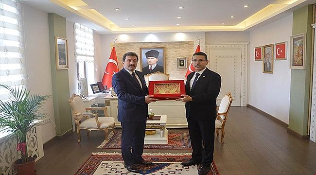 Sayıştay Başkanı Seyit Ahmet BAŞ, Valiliği Ziyaret Etti
