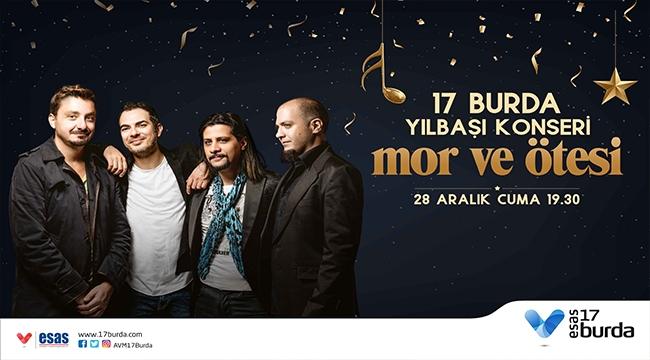 17 Burda AVM'de Yılbaşı Konseri 'MOR VE ÖTESİ'