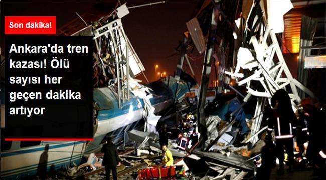 Ankara-Konya Seferini Yapan Yüksek Hızlı Tren, Kılavuz Trenle Çarpıştı: 9 Ölü, 47 Yaralı