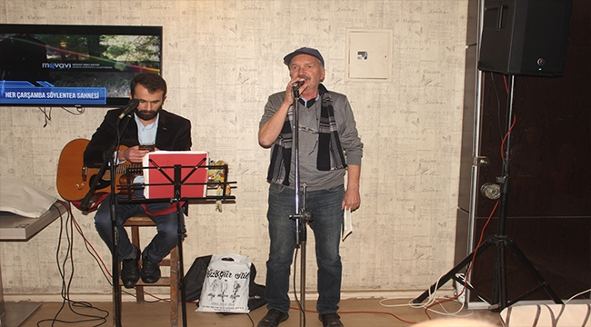 Çan'da Şiir Dinletisi Gecesi Mest Etti