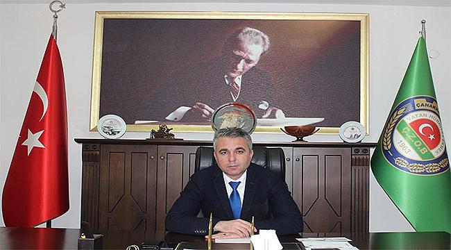 Çanakkale Ziraat Odası Başkanı İsmail KAYA 'nın yeni yıl mesajı