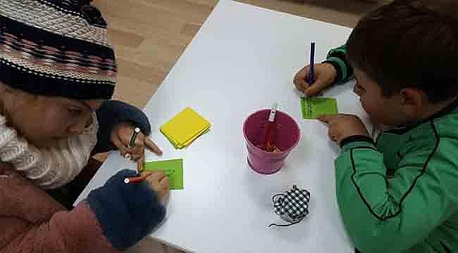 Çocuk Kültür Evi'nde Yeni Yıl Coşkusu