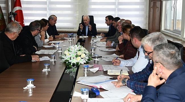 Lapseki Belediyesi Aralık Ayı Meclis Toplantısı yapıldı
