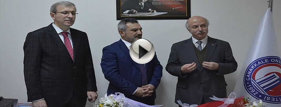 TÖMER'de Devir Teslim Töreni Gerçekleştirildi