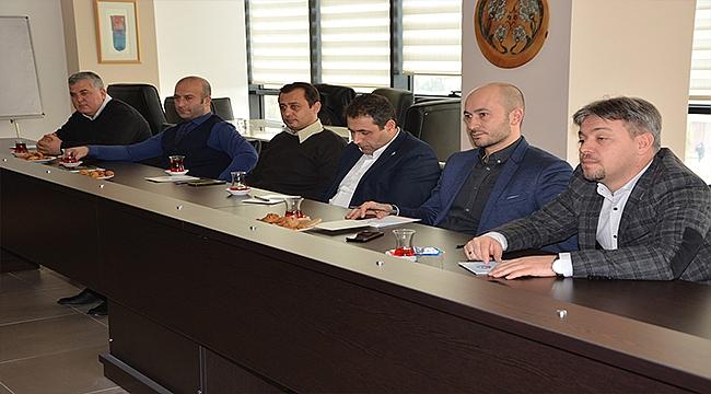 2019YILININ İLK KOMİTE BAŞKANLARI TOPLANTISI ÇTSO'DA YAPILDI