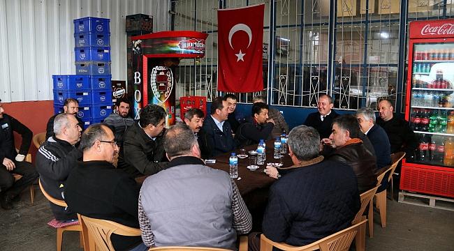 BAŞKAN IŞIK'TAN 2. SANAYİ ESNAFINA MÜJDE!