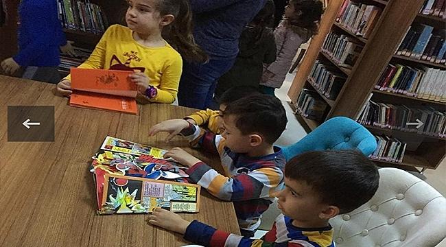 BİGA'DA 'ALTIN GÜNÜ YERİNE KÜTÜPHANE GÜNÜ' PROJESİ