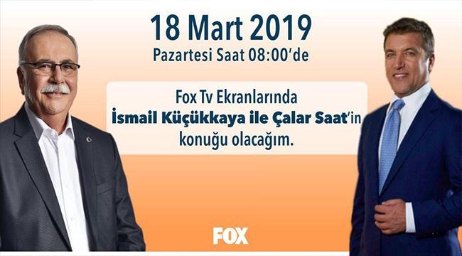 BAŞKAN 18 MART'TA FOX TV'DE