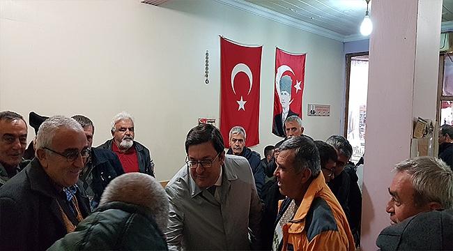 CHP'Lİ ERKEK BAYRAMİÇ'TE