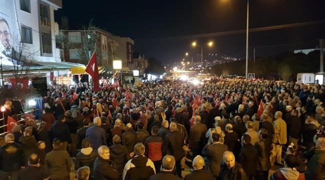 ŞİRİNTEPE'DE ERDOĞAN COŞKUSU