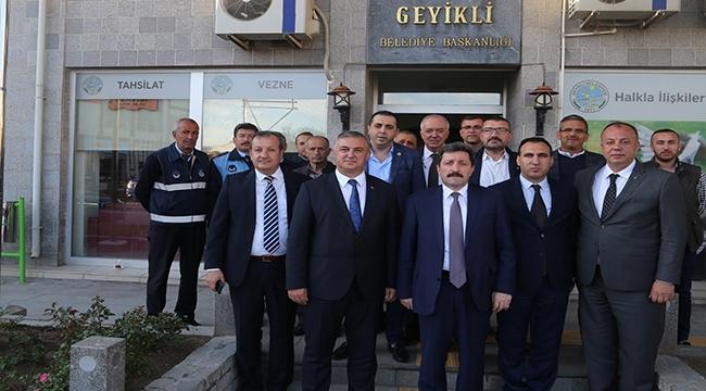 """GEYİKLİ BELEDİYESİNDEN """"İSTİHDAM SEFERBERLİĞİ 2019"""" 'A DESTEK"""