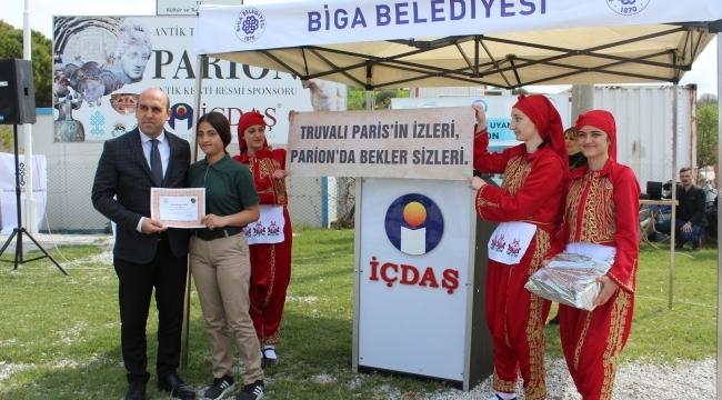 TURİZM HAFTASI KEMER PARİON ANTİK KENTİ'NDE KUTLANDI