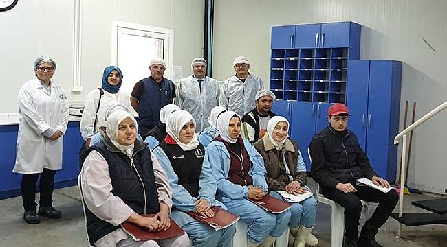 BİGA'DA BANT ELEMANI MESLEK EDİNDİRME KURSU BAŞARIYLA TAMAMLANDI