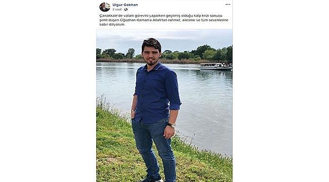 ÇANAKKALEDE ASKERLİK YAPIYORDU