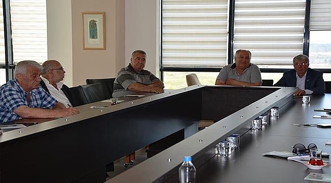 ÇTSO KONGRE FUAR MERKEZİ'NDE ZEYTİNYAĞI ÇALIŞMA GURUBU TOPLANTISI YAPILDI