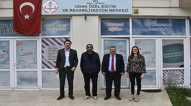 ''İSTİHDAMIN TEMELLERİ DE LAPSEKİ'DE ATILIYOR''