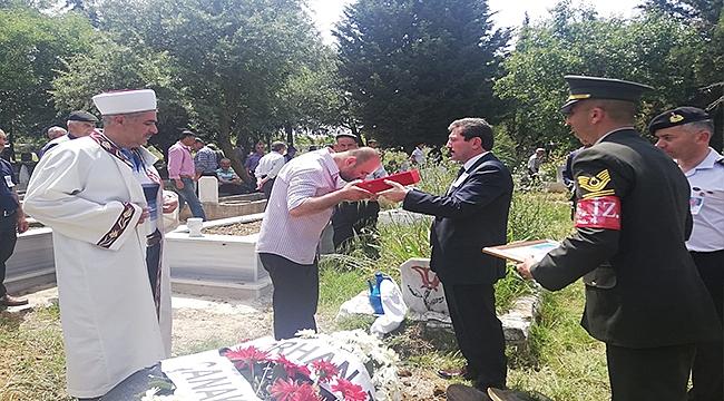 KIBRIS GAZİSİ ŞEHABETTİN SEZGİN, DUALARLA SON YOLCULUĞUNA UĞURLANDI