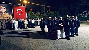 ŞEHİT J.ER OĞUZHAN KAMAN, DUALARLA UĞURLANDI
