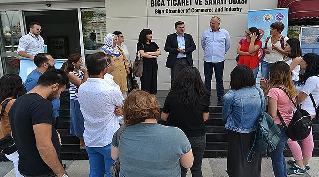 BİGA'DA BU YIL İKİNCİSİ DÜZENLENEN GİRİŞİMCİLİK EĞİTİM PROGRAMI YENİ KURSİYERLERİNİ AĞIRLIYOR