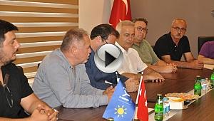 CHP İL BAŞKANLIĞI'NDAN İYİ PARTİ'YE ZİYARET