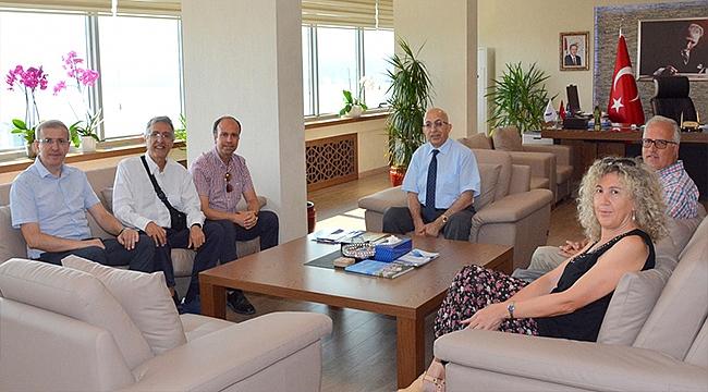 LAQUİLA ÜNİVERSİTESİ'NDEN REKTÖR PROF. DR. SEDAT MURAT'A ZİYARET
