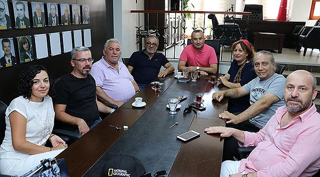 ÇAGAYDER'DEN BAROYA ZİYARET