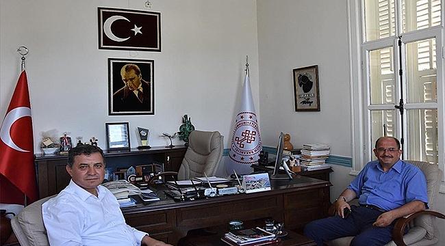 DAVUT GAZİ BENLİ'DEN KEMAL DOKUZ'A ZİYARET