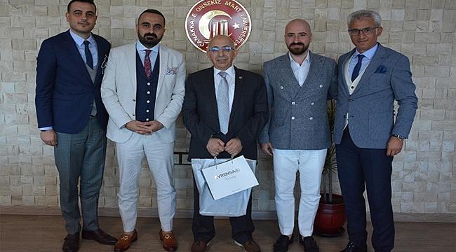 ÖĞRENCİ YURTLARI DERNEĞİ'NDEN REKTÖR PROF DR. SEDAT MURAT'A ZİYARET