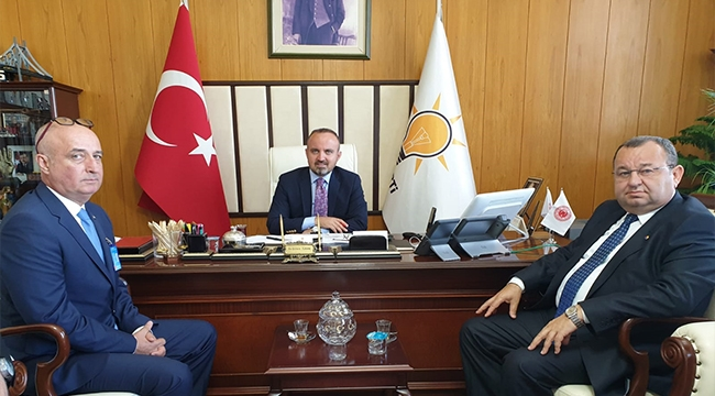 BİGA TSO'DAN BÜLENT TURAN'A ZİYARET